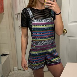 Other - Silky Tribal Overalls!